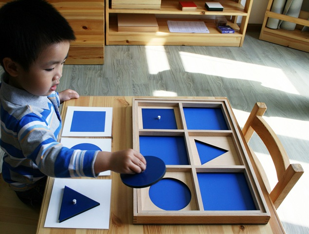 Montessori teaching in India - abroadship.org