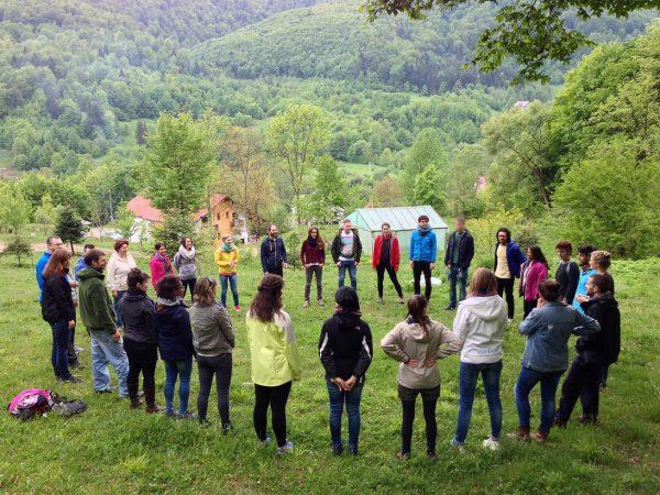 Think Like Nature - Emotional Intelligence with Forest School - training course - UK - abroadship.org