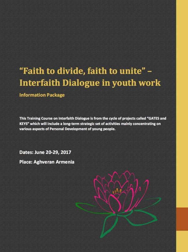 Training course - Interfaith dialogue - Armenia - abroadship.org
