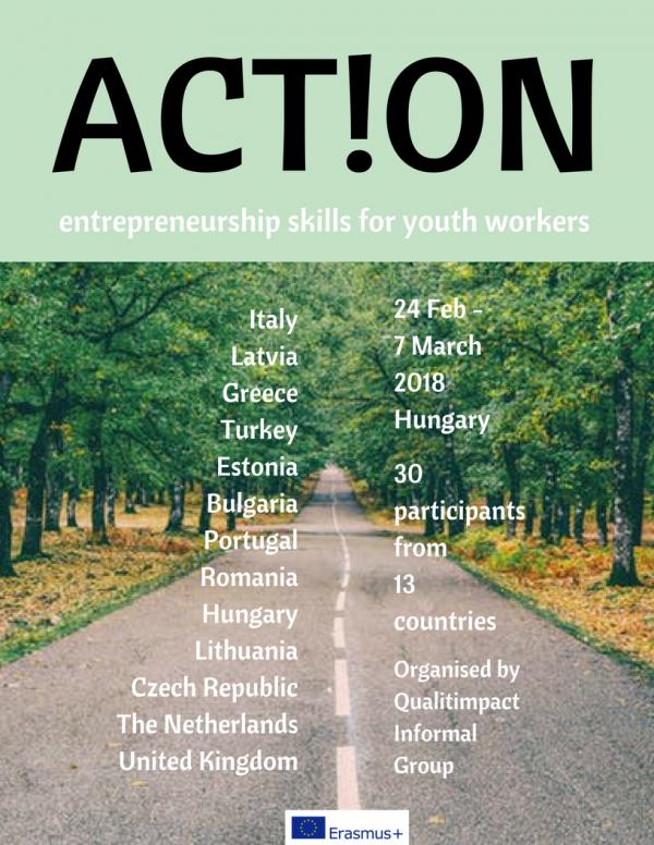 ACT!ON - Basic Synergy training - Entrepreneurship - Abroadship.org