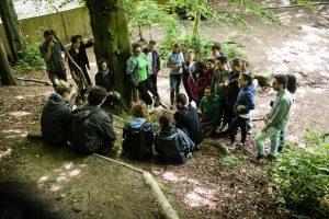 Think Like Nature - Emotional Intelligence with Forest School - training course - England - UK - Ironbridge - Coalport - Abroadship.org
