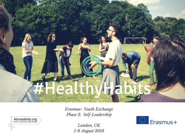 #HealthyHabits 3: Self-Leadership - London - United Kingdom - youth excahange - abroadship.org