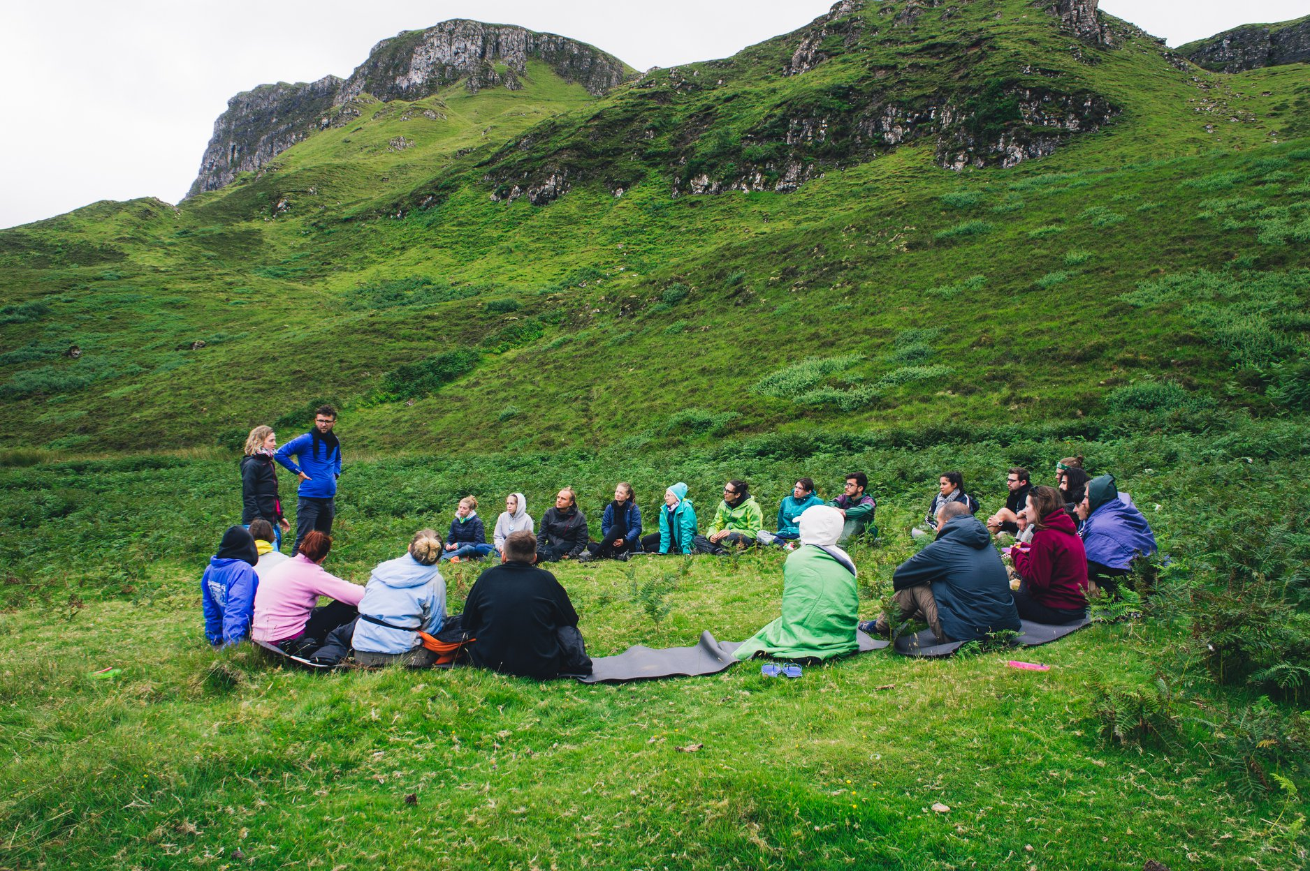 Training Course – East or West-Outdoors is the best - Scotland- abroadship.org