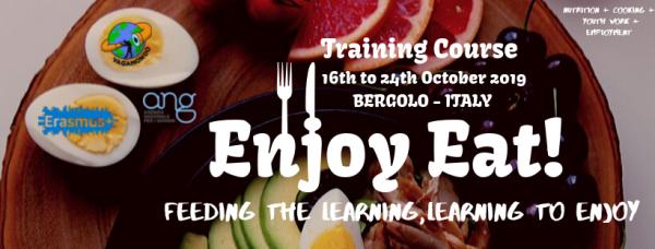Training Course - Enjoy Eat - Italy - Abroadship.org
