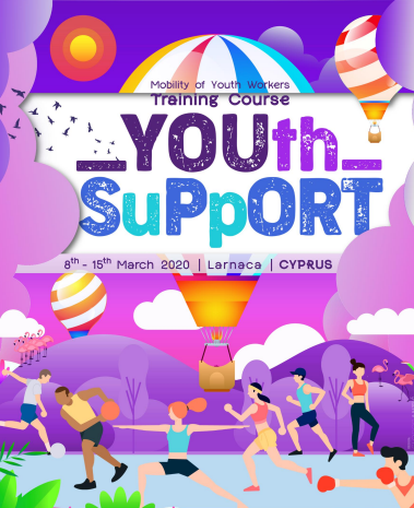 Training course - YOUth SuPpORT - Larnaca, Cyprus - Erasmus Plus - Abroadship.org