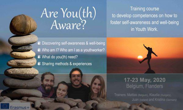 Training Course - Are You(th) Aware?- Belgium - FL - Erasmus Plus - Abroadship.org