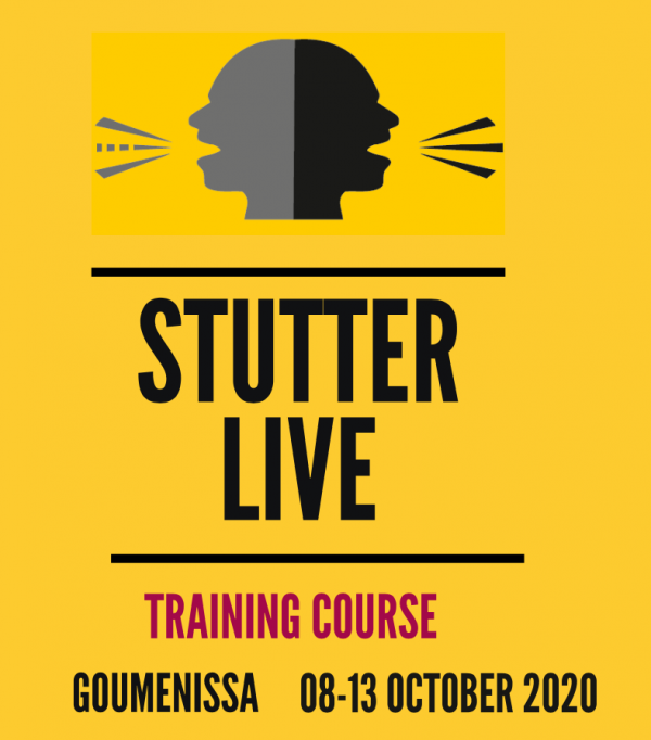 Training course - Stutter live - Greece - Erasmus plus - abroadship.org