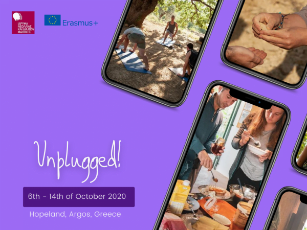 Unplugged! - Erasmus plus youth exchange - Greece - abroadship.org