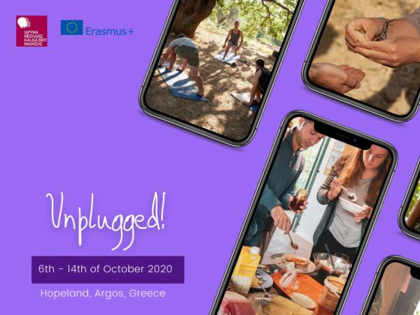 Unplugged! - Erasmus plus youth exchange - Greece - abroadship.org