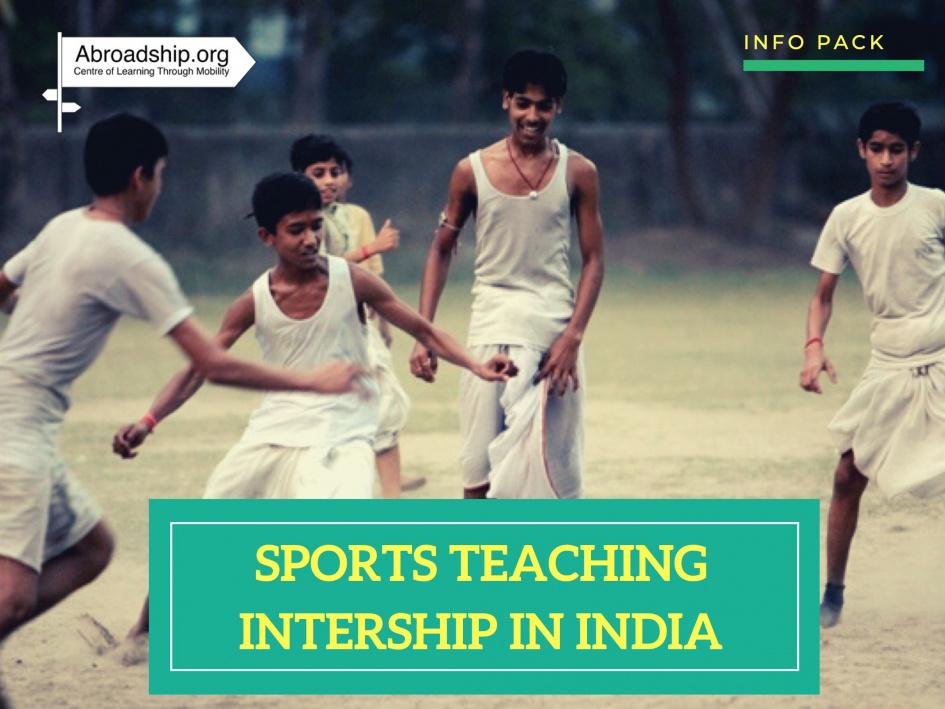 Sports teaching in India - abroadship.org