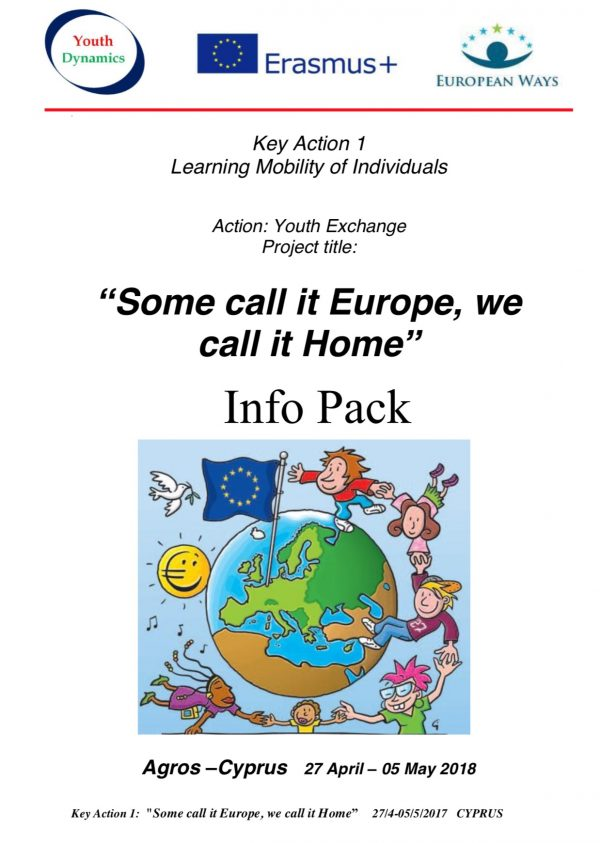 Some call it Europe, we call it Home - Infopack - Cyprus - abroadship.org