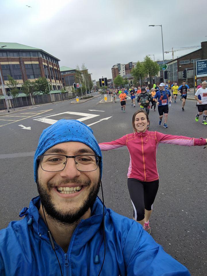 Step In Their Shoes - Youth Exchange - Running in Northern Ireland - Belfast Marathon - United Kingdom - Abroadship.org
