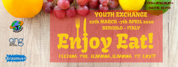Enjoy Eat - Youth exchange - Erasmus plus - Italy - Abroadship.org