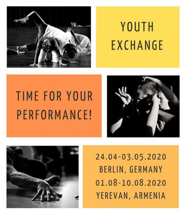 Youth Exchange - Time for your performance! - Berlin - Erasmus Plus - Abroadship.org
