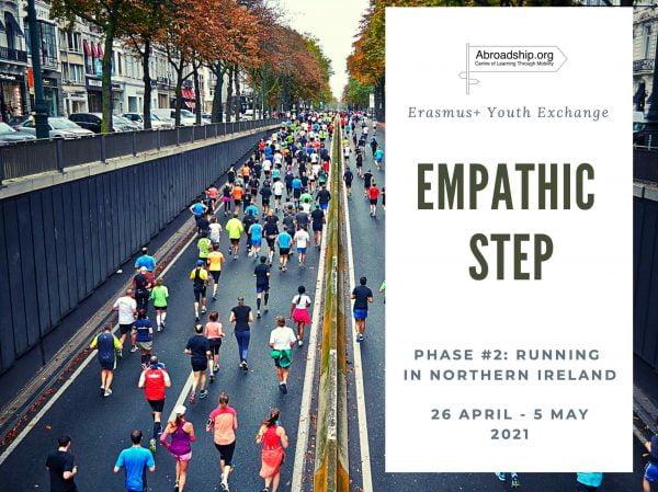 Empathic Step 2: Running in Northern Ireland - Erasmus plus youth exchange - Abroadship.org