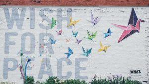 Wish for peace - Nashville Walls